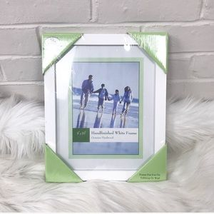 New In Packaging 8X10 White Picture Frame